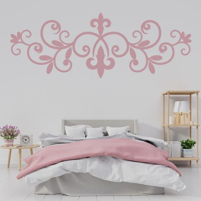 Fleur De Lis Header Wall Sticker Decorative Wall Art