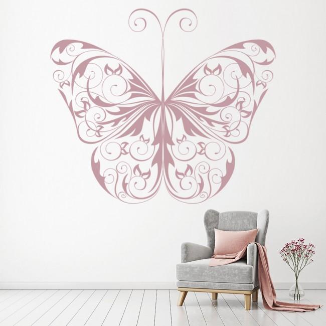 decorative butterfly print wall art sticker wall decal decorative stickers for walls 2017 grasscloth wallpaper