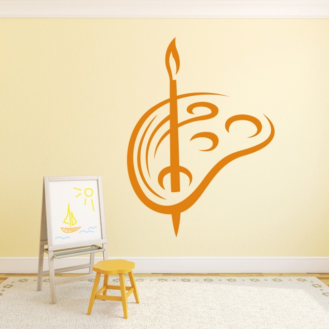 Funky Wall Art Easel Frieze - The Wall Art Decorations ...