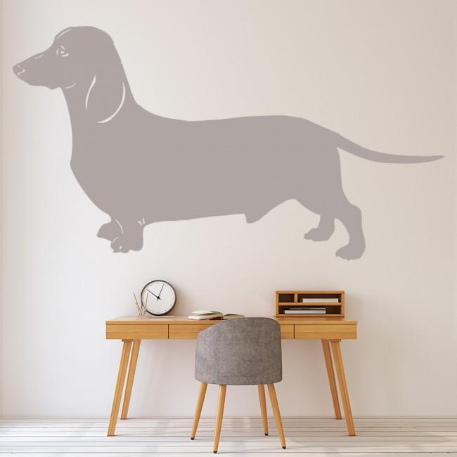 Dachshund Dog Wall Sticker Pet Animals Wall Decal Canine