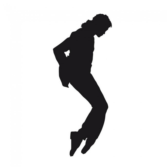 Michael Jackson Music Dance Wall Sticker