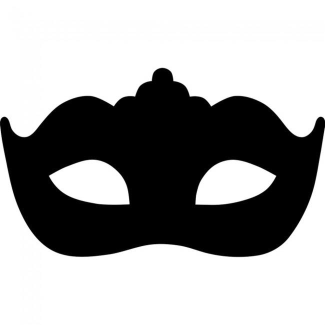 Masquerade Mask Wall Sticker Mask Wall Art