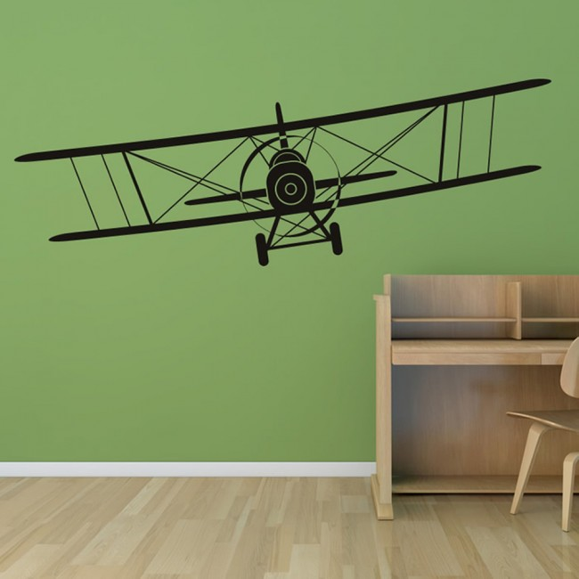Aeroplane Wall Sticker Airplane Wall Art