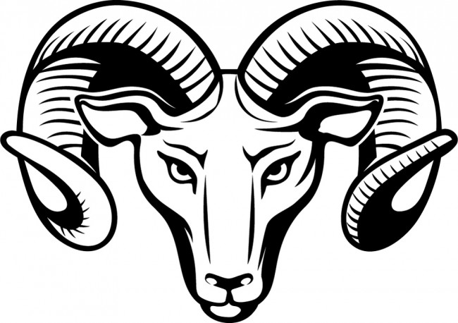 Aries Ram Zodiac Sign Wall Sticker