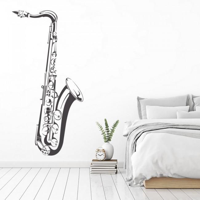 Saxophone Wall Sticker Musical Wall Art