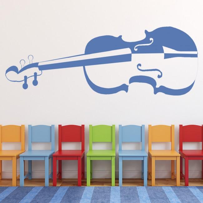 Violin Wall Sticker Music Wall Art