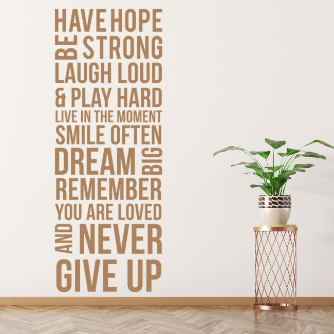 Have Hope Wall Sticker Home Wall Art