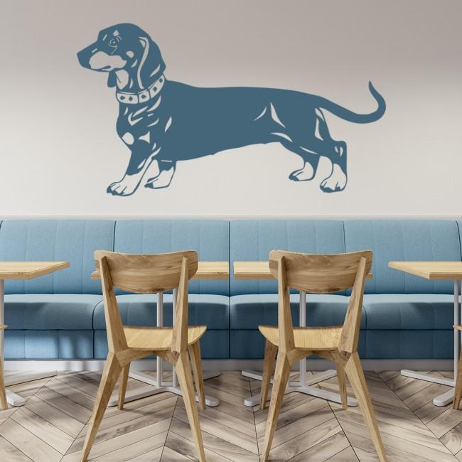 dachshund dog pet wall sticker