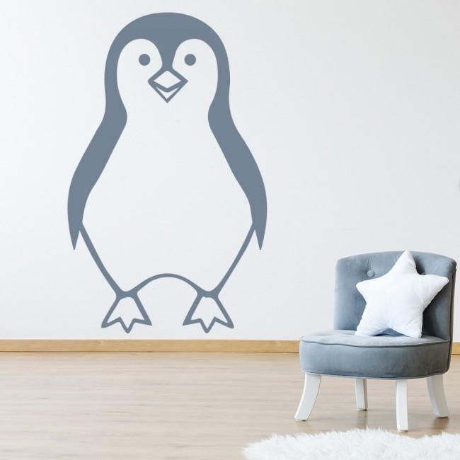 Cartoon Penguin Wall Sticker Animal Wall Art