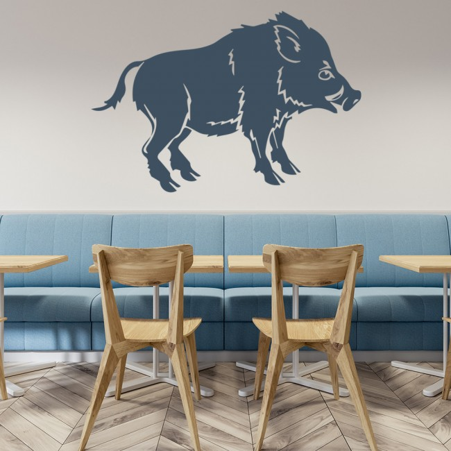Wild Boar Wall Sticker Animal Wall Art