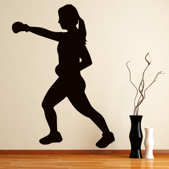 Wall Tattoo Boxing Evolution Boxer Sport Athlete-Free Choice of Colour