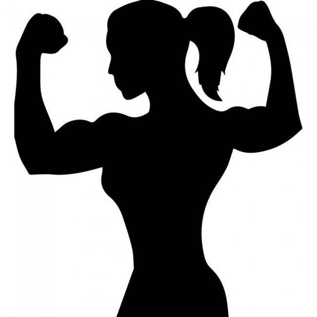 female bodybuilder wall sticker athletics wall art ice fishing clip art free ice fishing clip art image