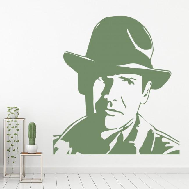Indiana Jones Wall Sticker Icon Wall Art