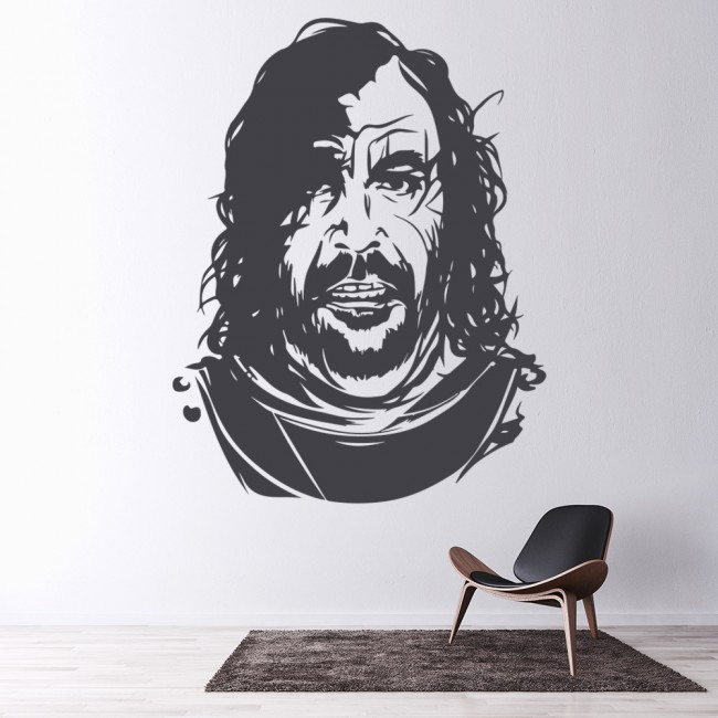 Game Of Thrones Wall Art game of thrones the hound wall sticker game of thrones wall art