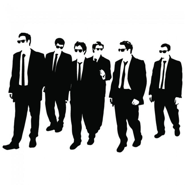Reservoir Dogs Quentin Tarantino Wall Sticker