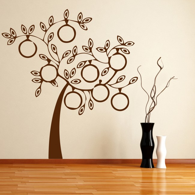 Modern Family Tree Wall Sticker Family Wall Art
