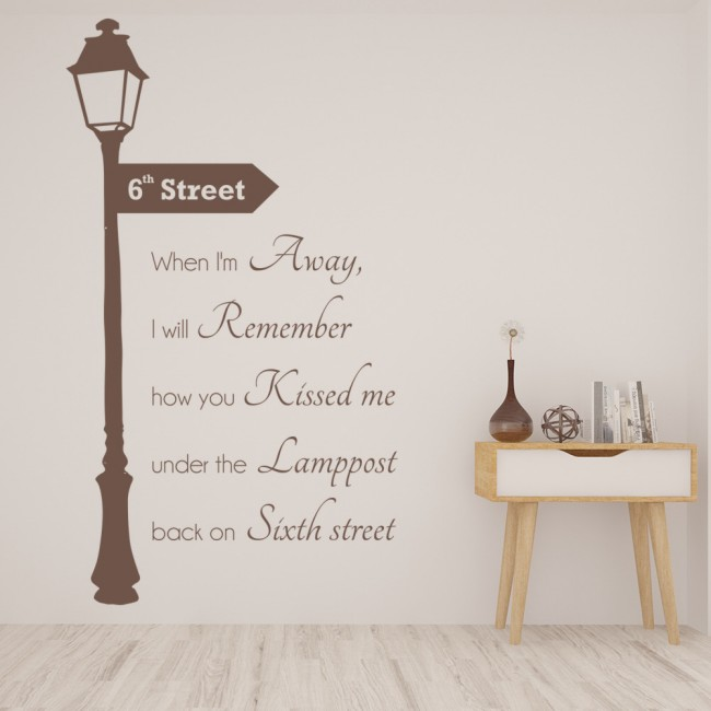 Song Lyric Wall Art ed sheeran x photograph song lyrics wall stickers music décor art