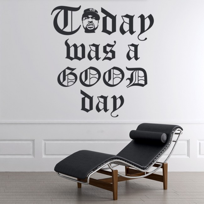 Used Cars Nwa >> Today Was A Good Day Wall Sticker Ice Cube NWA Wall Decal Rap Music Home Decor