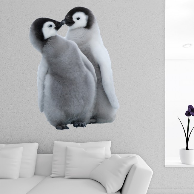 Baby Penguin Wall Sticker Cute Animal Wall Decal Kids