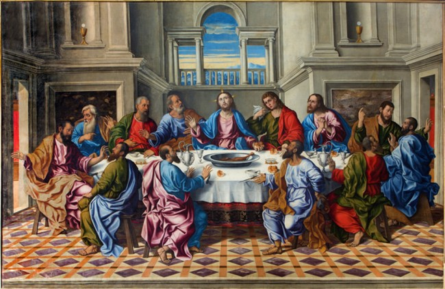 Jesus Christ Wall Mural The Last Supper Photo Wallpaper Religion