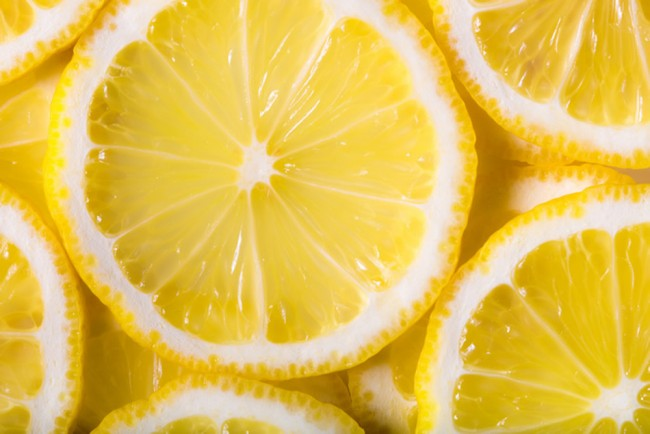 Lemon Slice Wall Mural Wallpaper