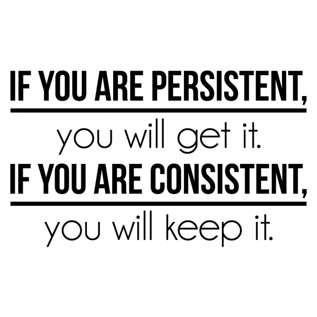Quotes About Being Consistent Daily Inspiration Quotes
