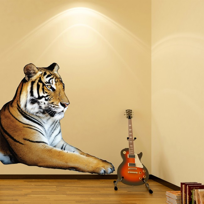 Tiger Jungle Animal Wall Sticker WS-43117