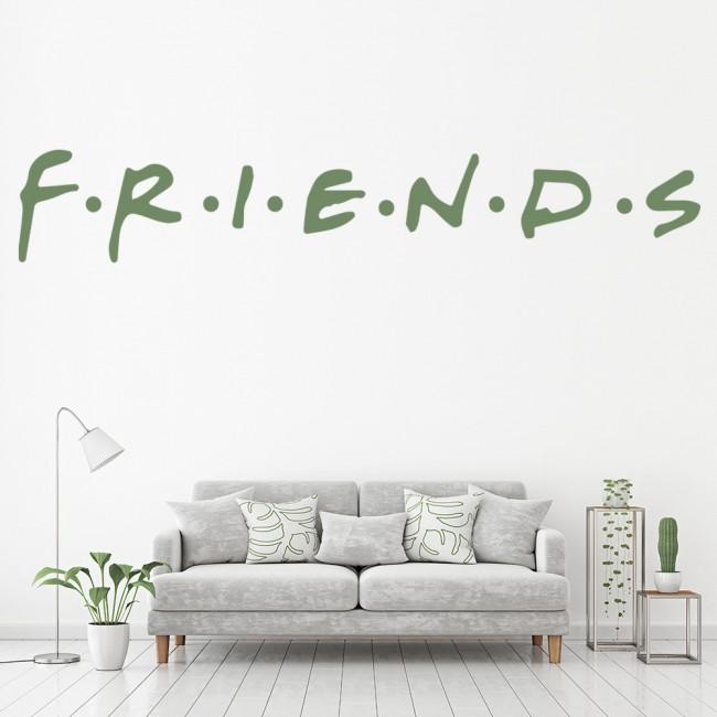 FRIENDS Logo Wall Sticker TV Show Wall Decal Living Room