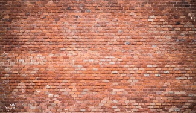 Red Brick Wall Mural Wallpaper