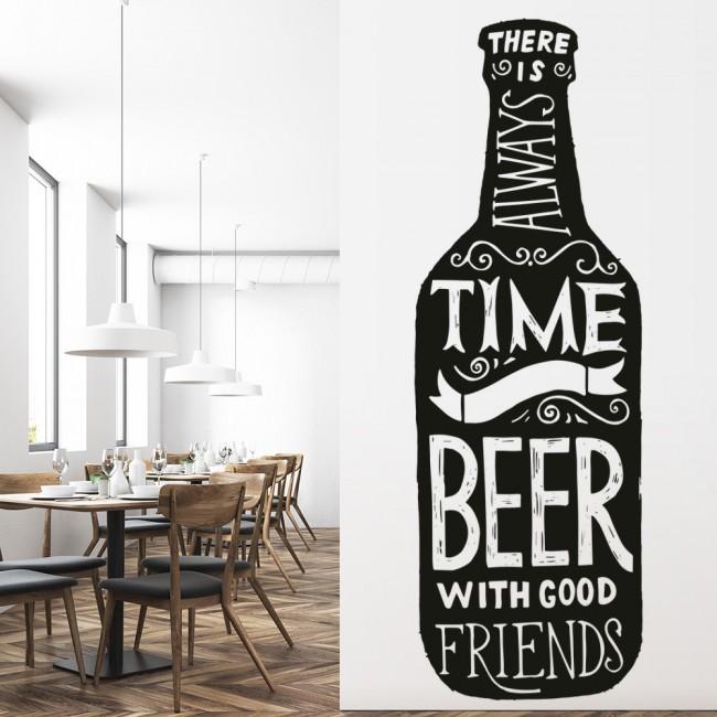 It/'s Wine O/'Clock Alcohol Quote Wall Sticker WS-46143