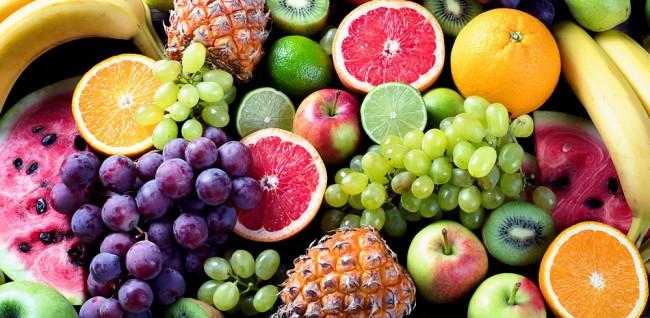 Fresh Fruit Kitchen Wall Mural Wallpaper
