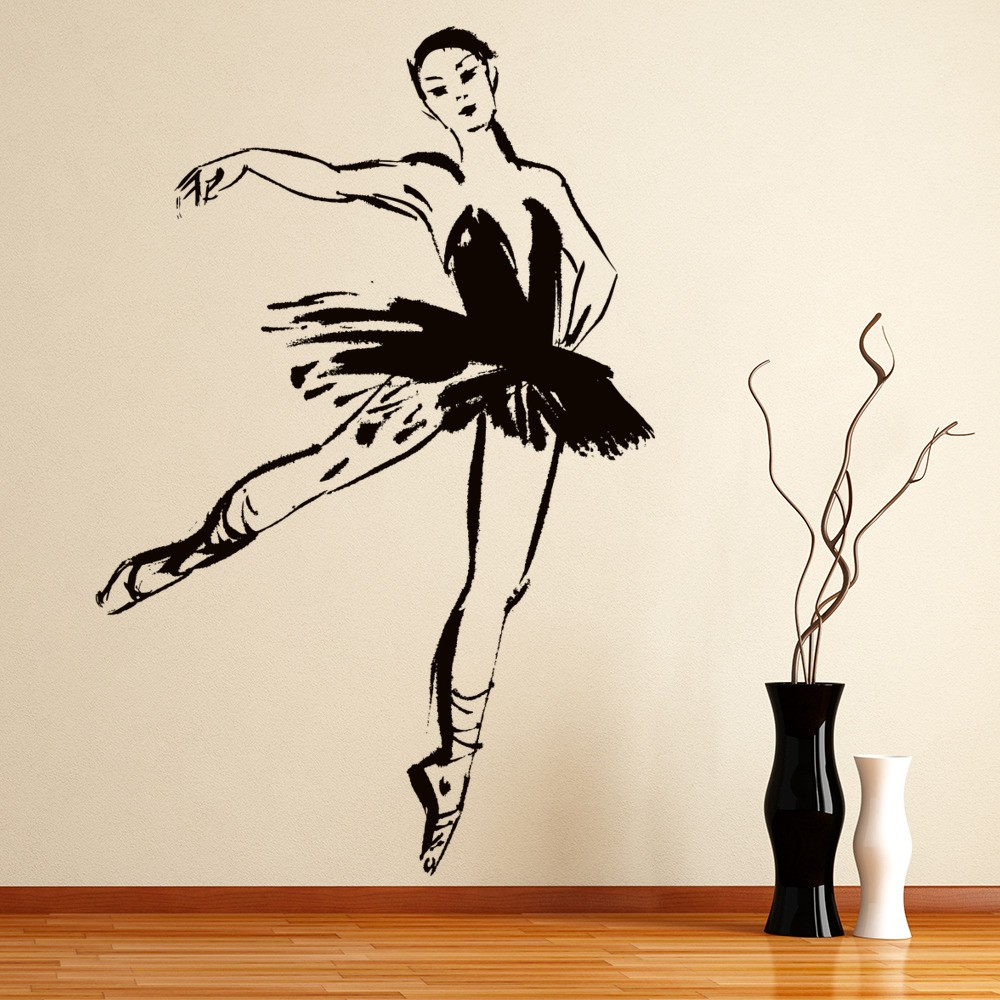 Ballet Dancer Wall Sticker Dancer Wall Art