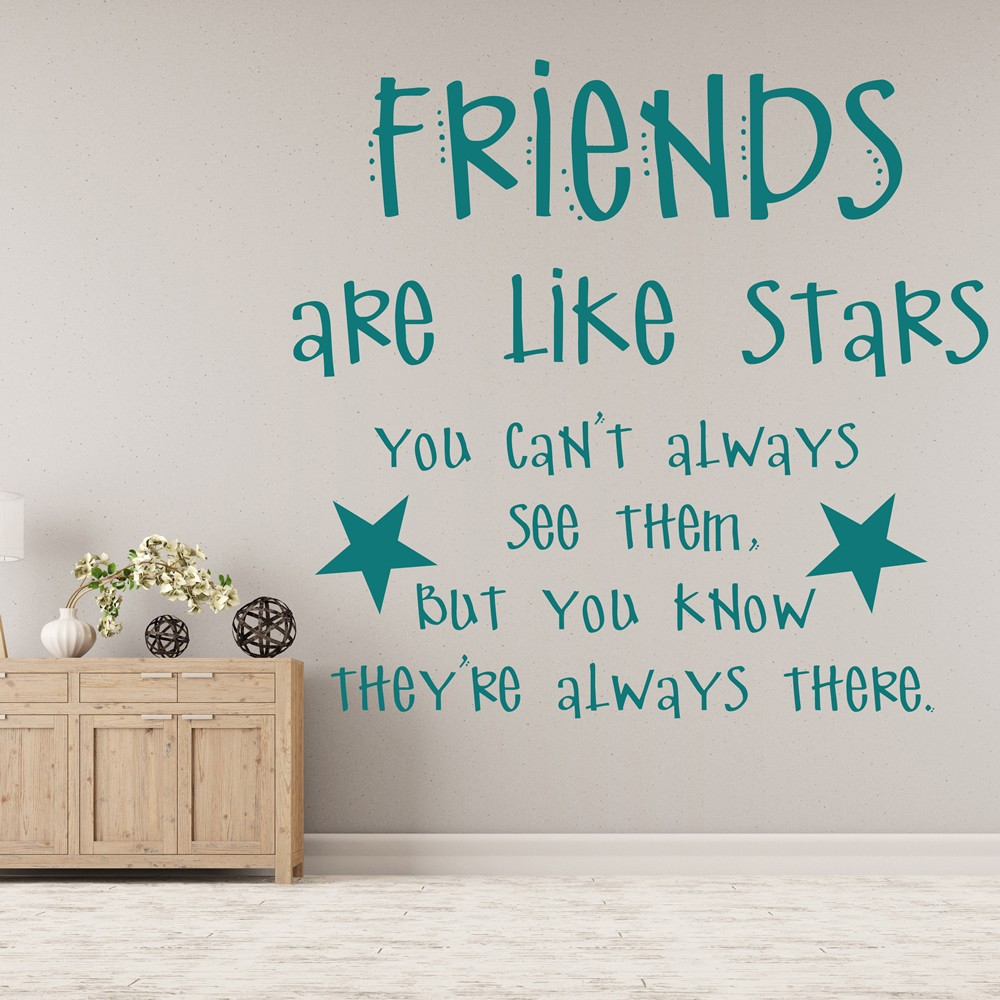 family quotes wall stickers iconwallstickers co uk family friends quotes wall stickers home art decals