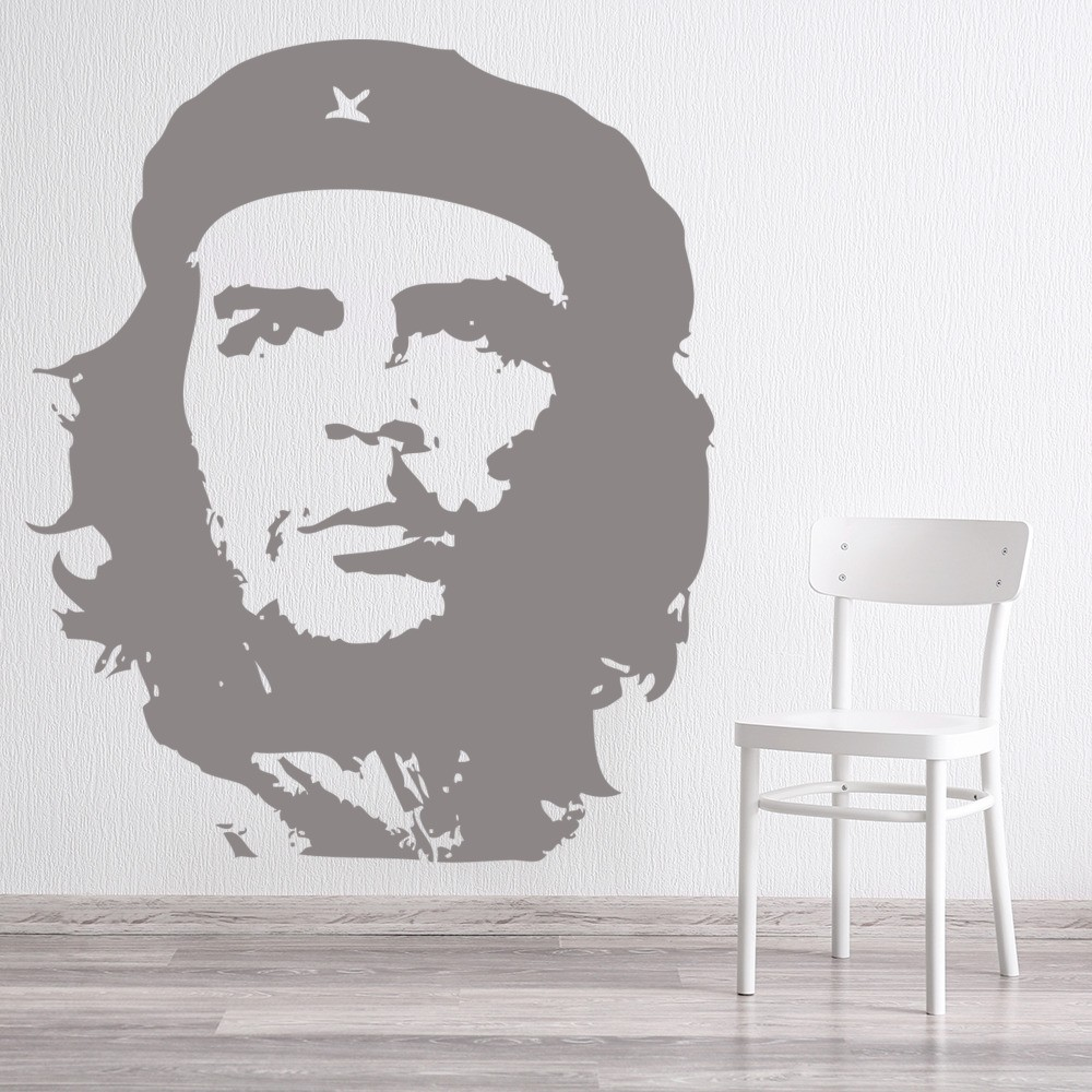 che guevara wall stickers icon wall art. Black Bedroom Furniture Sets. Home Design Ideas