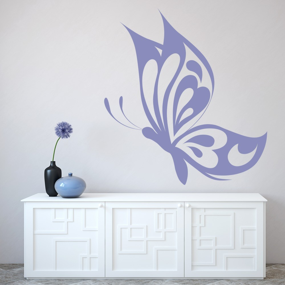 Heart Butterfly Wall Sticker Butterflies Wall Decal