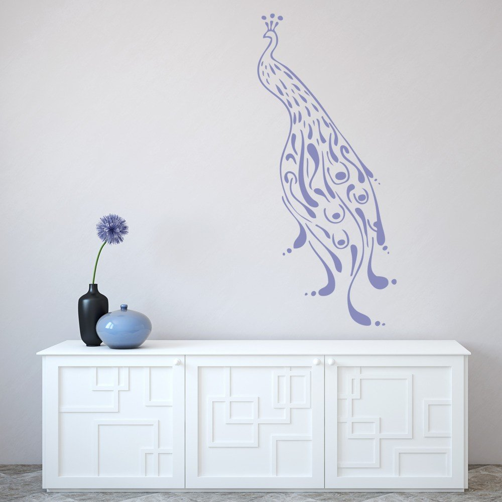 peacock feather wall decal www galleryhip com the peacock feather wall decal vinyl stickers bird plumage