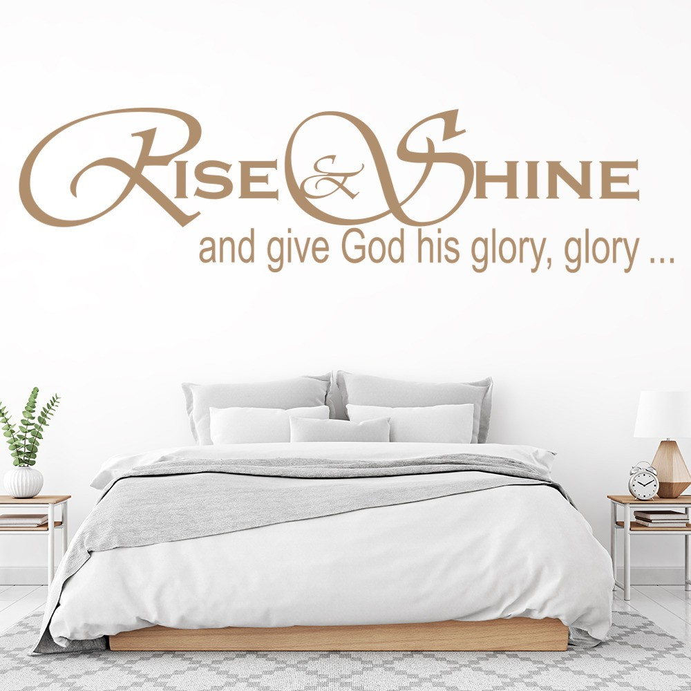 Give God His Glory Glory Wall Sticker Hymn Song Wall