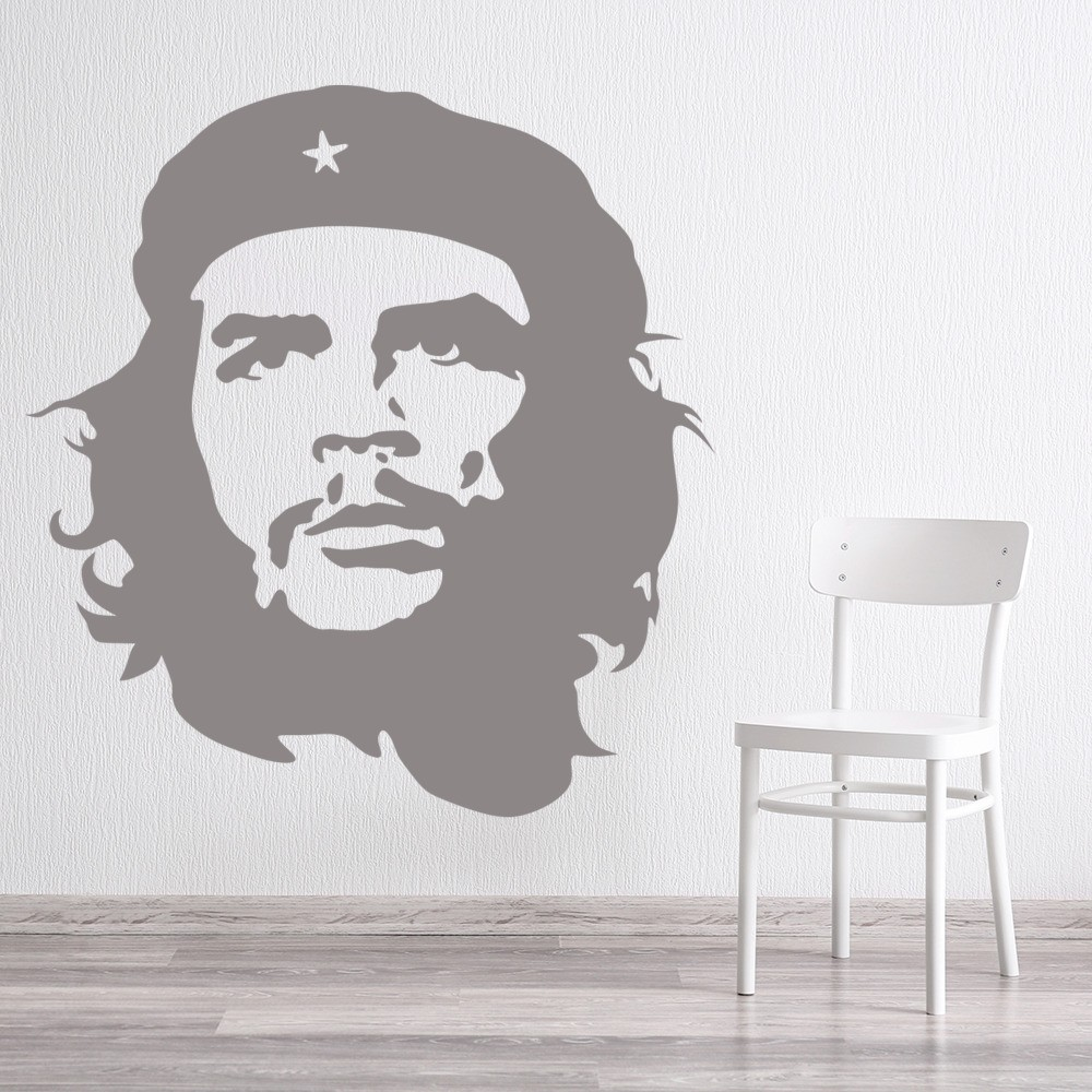che guevara wall sticker icon wall art. Black Bedroom Furniture Sets. Home Design Ideas