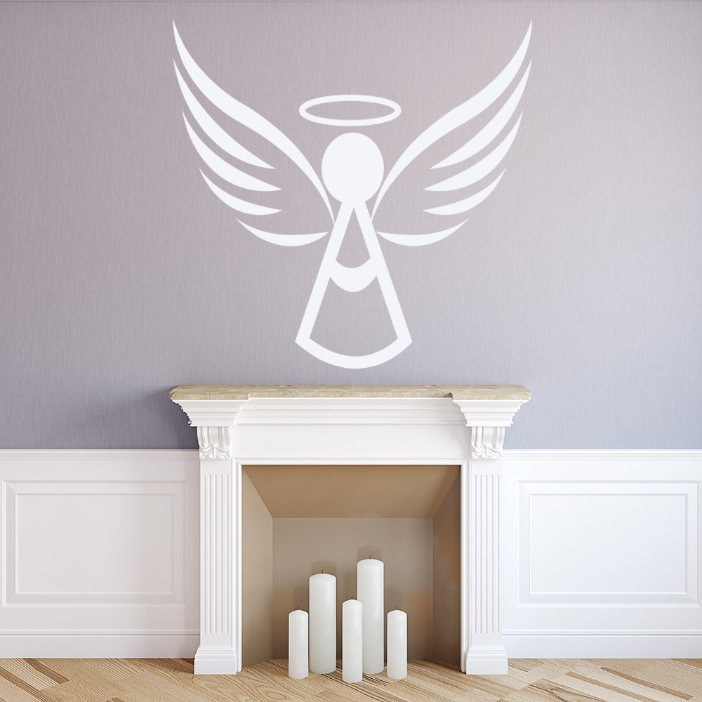Angel Halo Wall Sticker Angel Wall Art