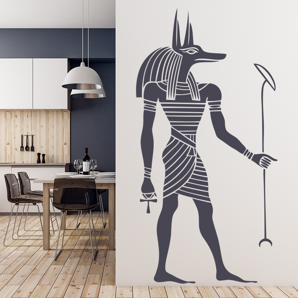 Egyptian Anubis Wall Sticker Ancient Egypt Wall Decal