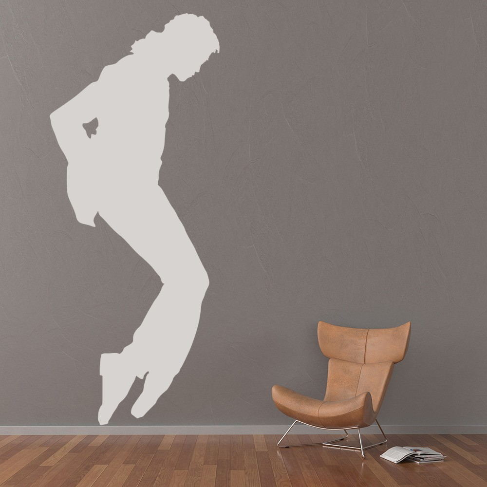 Attractive Michael Jackson Pose Music Icons U0026 Celebrities Wall Sticker Home Decor Art  Decal Part 30