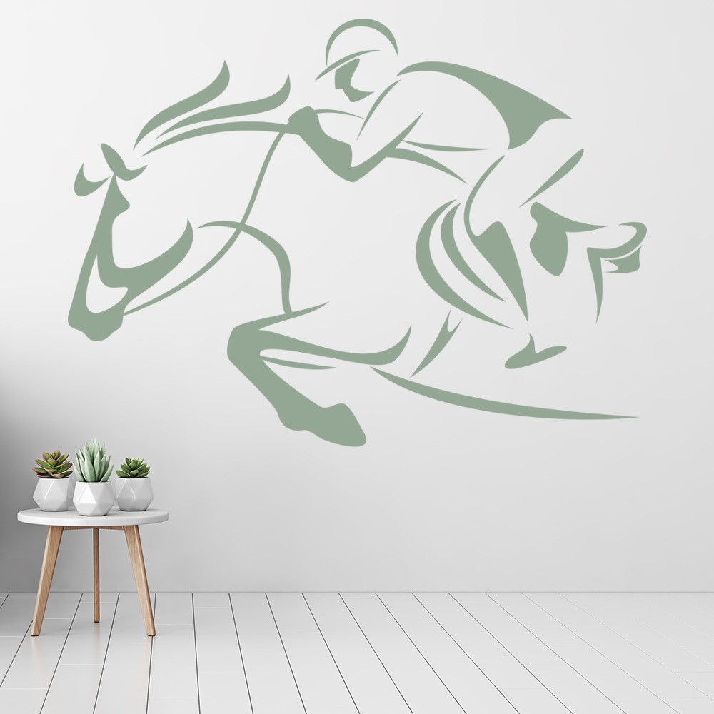 shop horse riding wall stickers - icon