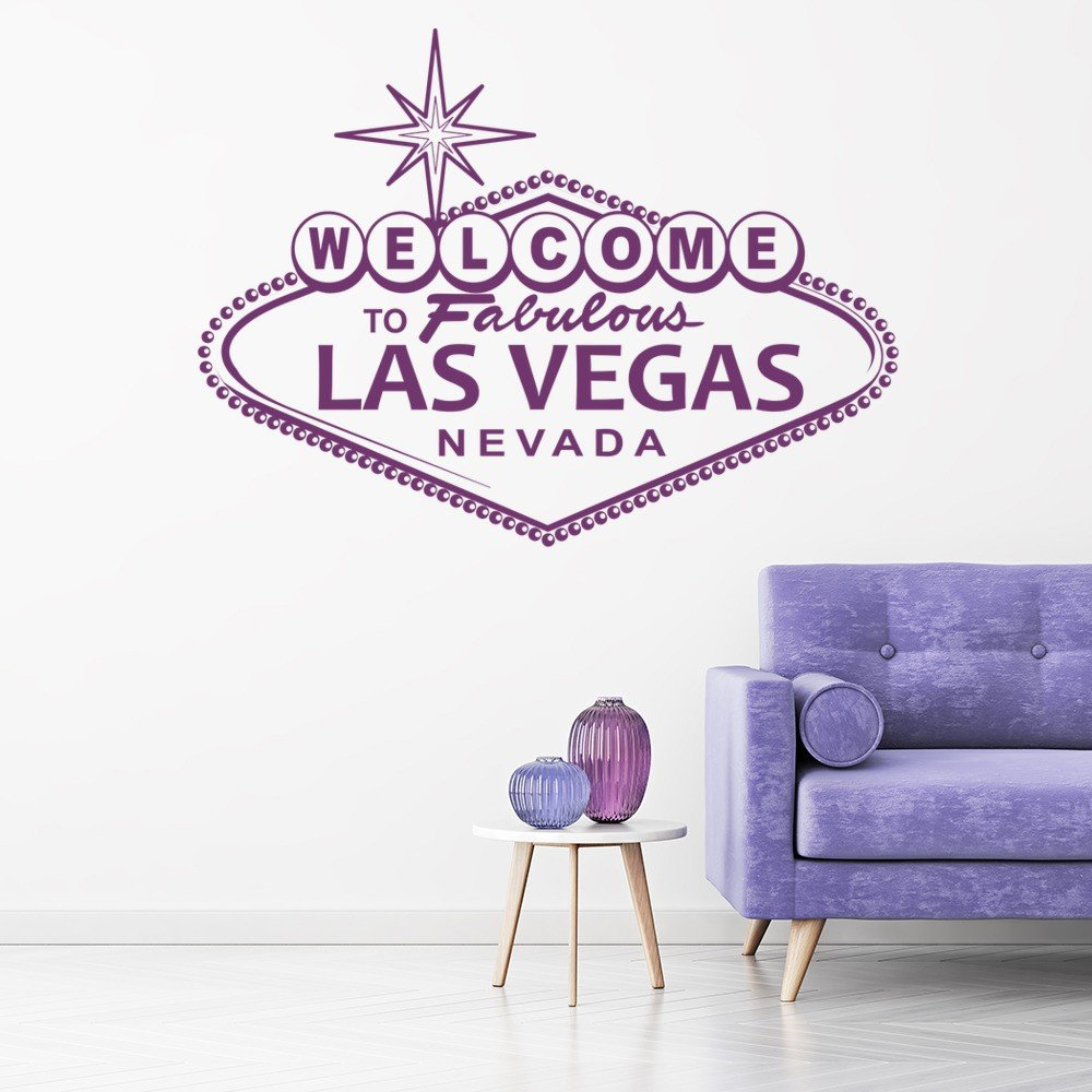america usa wall stickers  iconwallstickerscouk - las vegas nevada welcome sign america usa wall stickers home decor artdecals