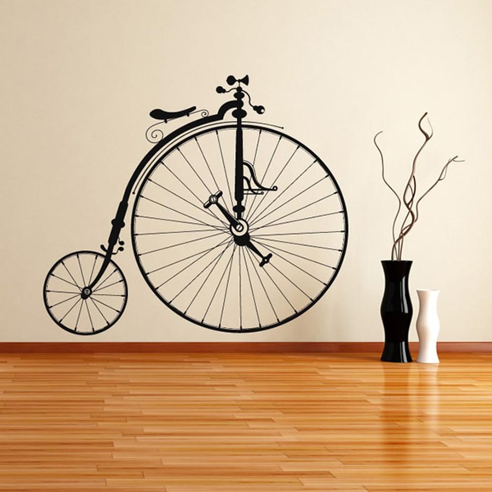 Penny Farthing Wall Stickers Bike Wall Art