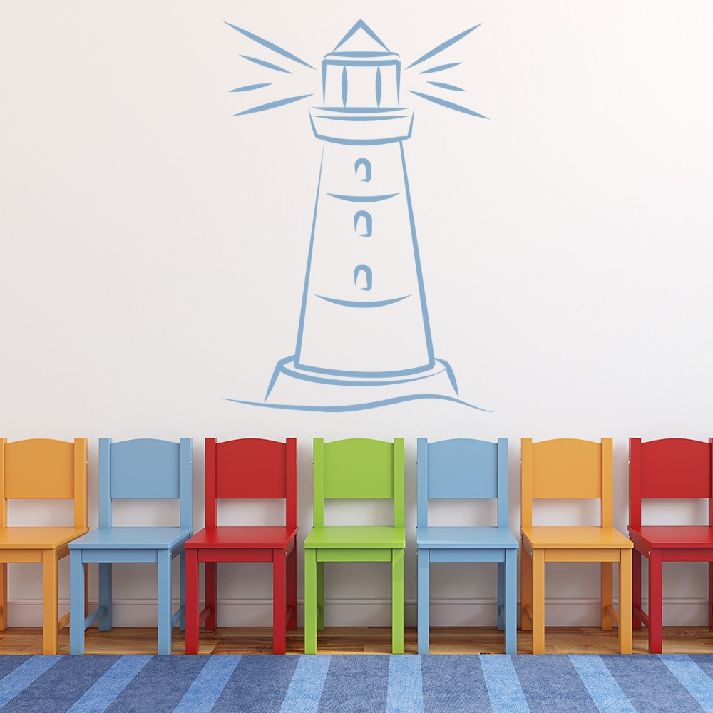 Lighthouse Wall Sticker Sea Wall Art