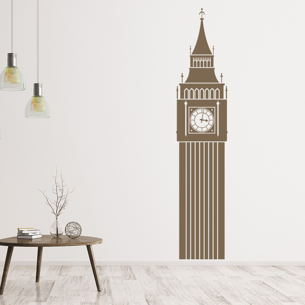 Big Ben Uk Landmark Wall Sticker