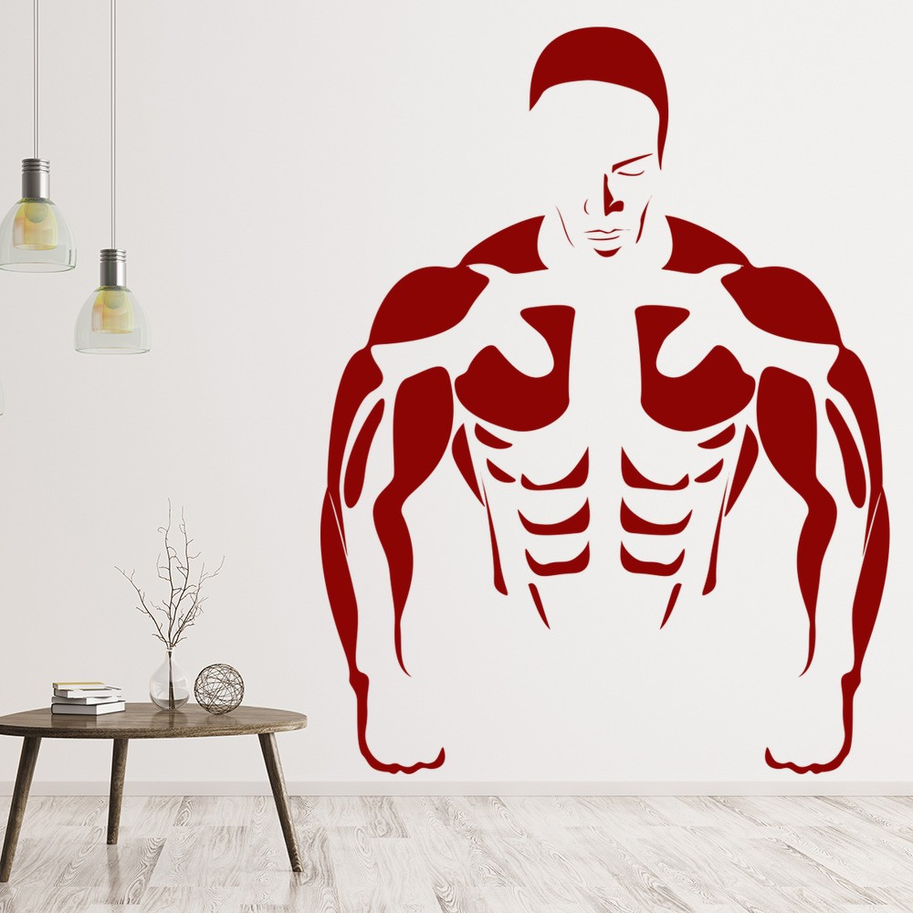 Sticker gym wall - Sticker Gym Wall 16