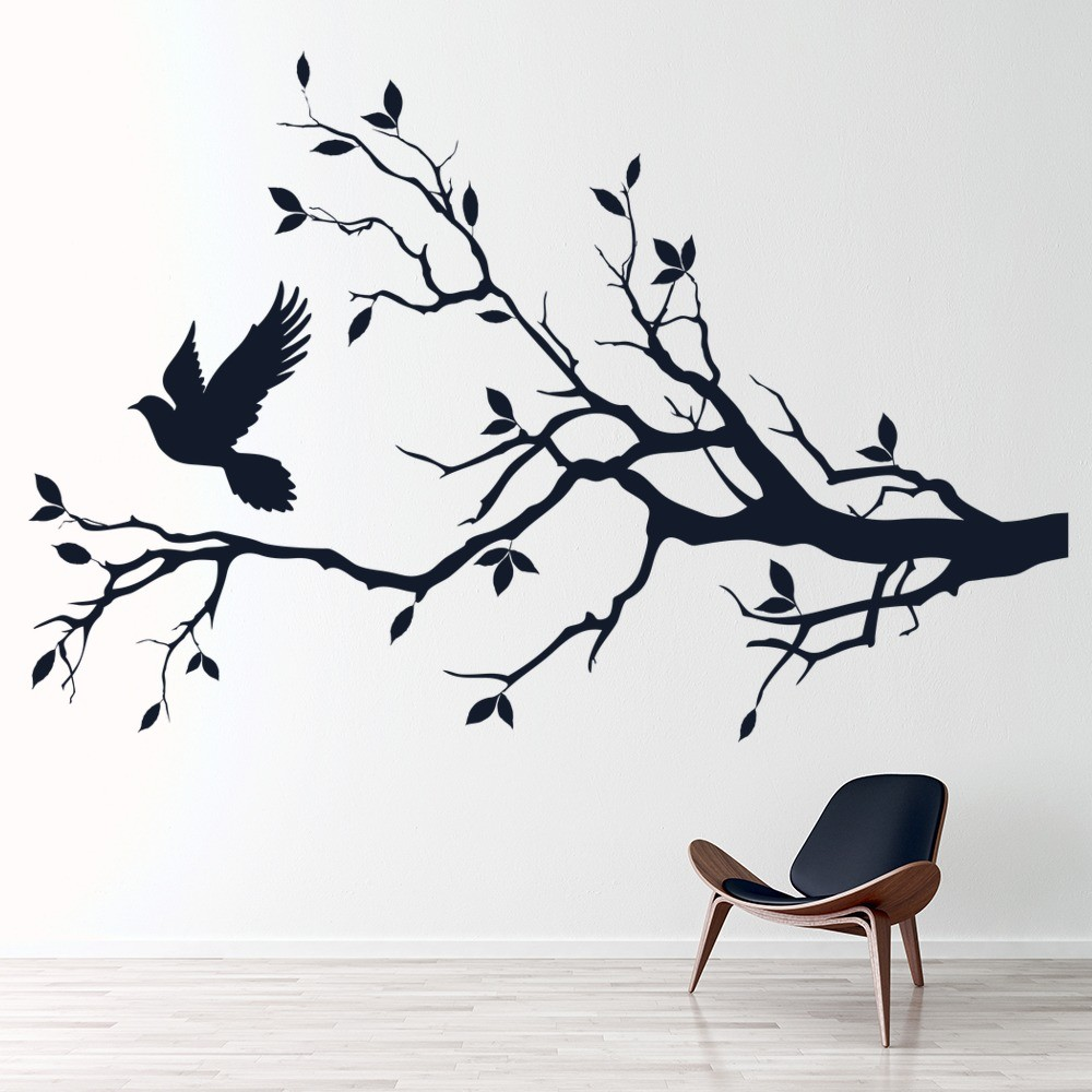 Bird & Feathers Wall Stickers | Iconwallstickers.co.uk