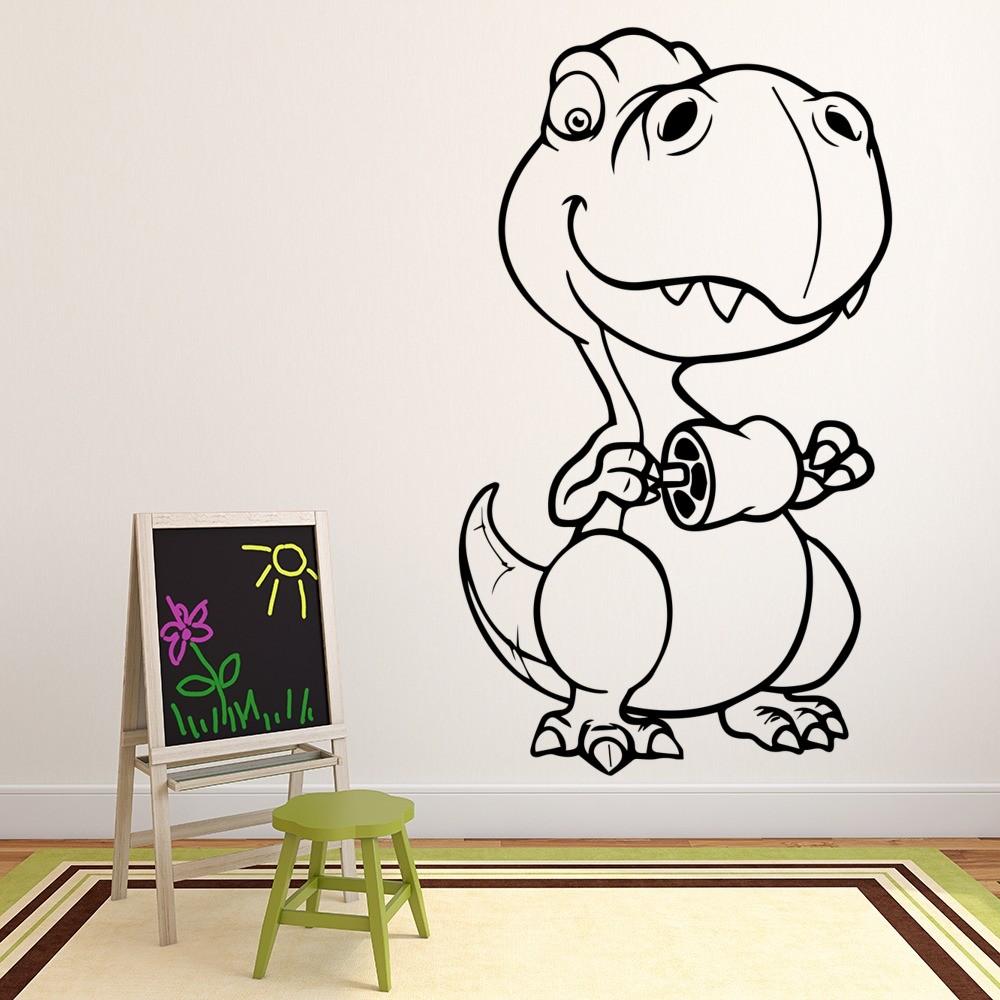 Baby T-Rex Dinosaur Wall Sticker