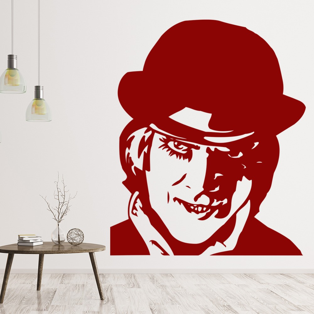 clockwork orange wall sticker icon wall art. Black Bedroom Furniture Sets. Home Design Ideas